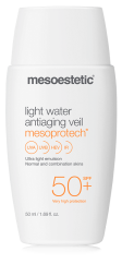 mesoestetic mesoprotech light water antiaging veil 50