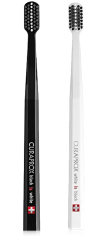 Curaprox White Is Black Toothbrush Duo Pack (Black/White)