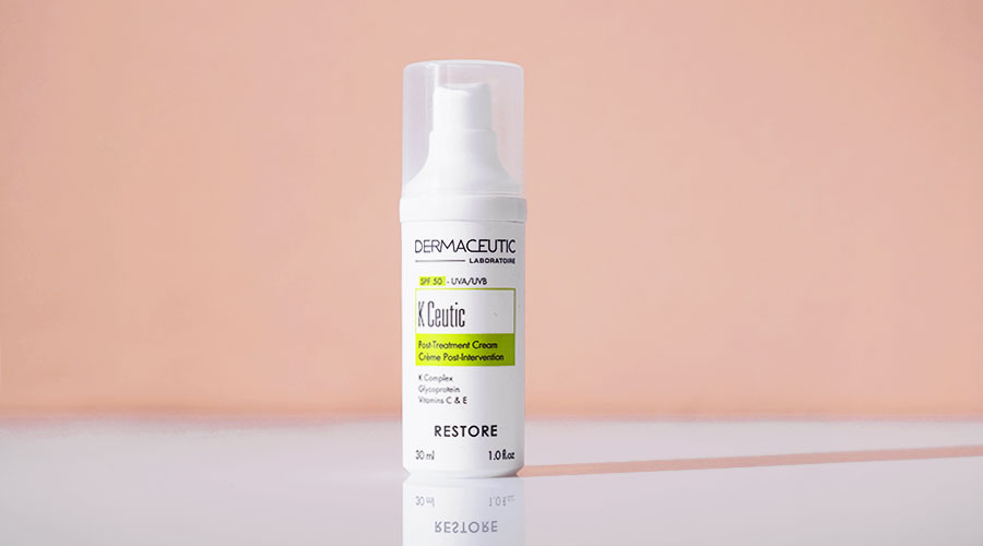 dermaceutic k ceutic, post treatment, skincare, chemical peels, laser, dermapen
