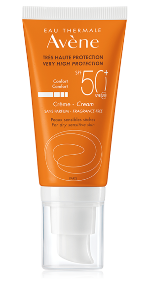 Avène SPF50+ Fragrance Free Cream