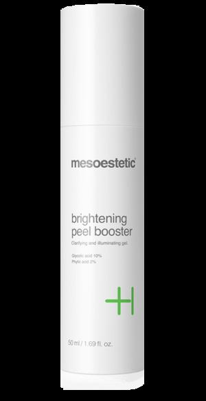 mesoestetic brightening peel booster