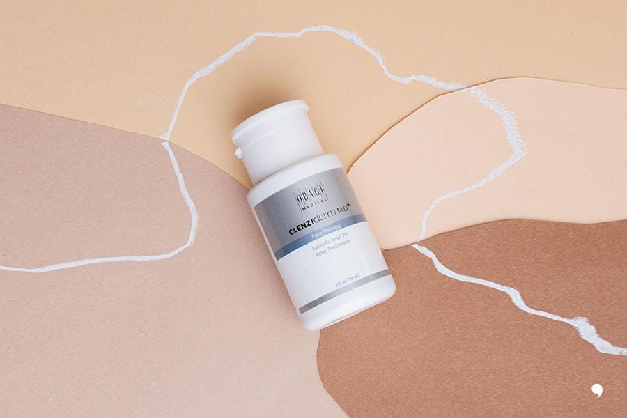 obagi clenziderm, pore therapy, salicylic acid, acne treatment