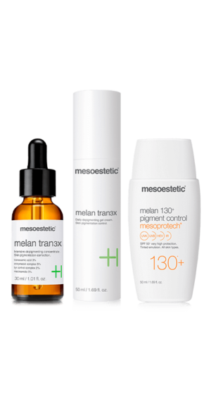 mesoestetic melan tran3x kit