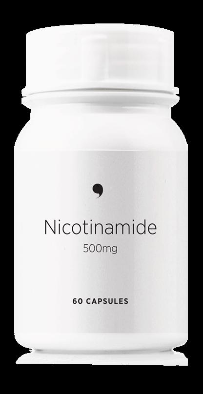 Dermastore® Nicotinamide Capsules 500mg